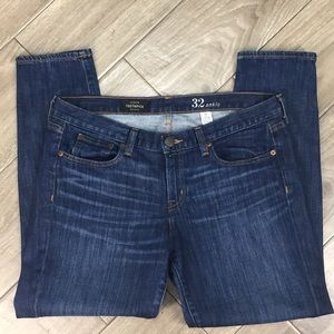 J Crew toothpick ankle jeans size 32